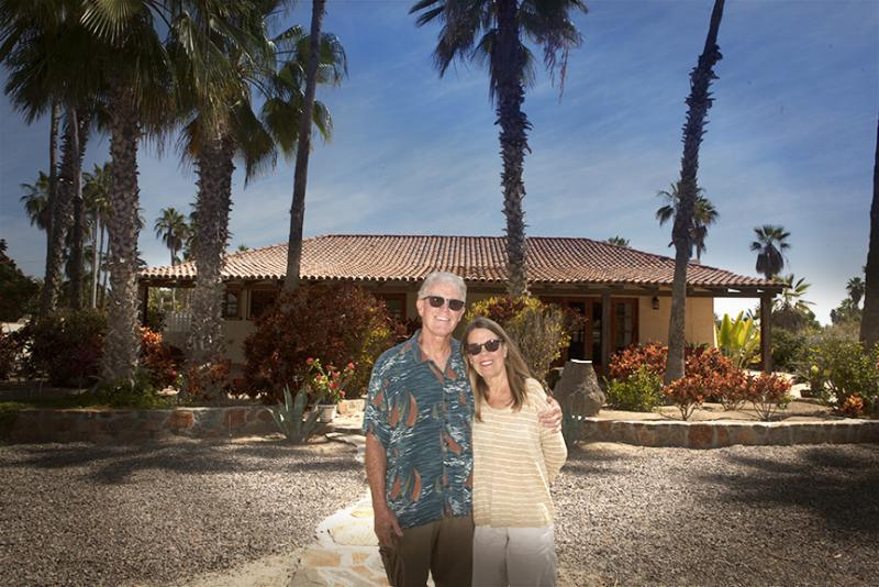 Bill Nation, M.D., and Cathy Nation, Todos Santos.